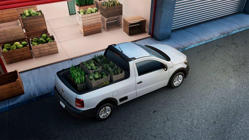 Saveiro 2021 - La camioneta de carga con gran capacidad y seguridad ideal para tu negocio