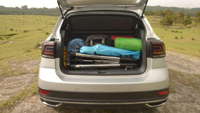 Cajuela espaciosa de SUV T-Cross - Volkswagen Series