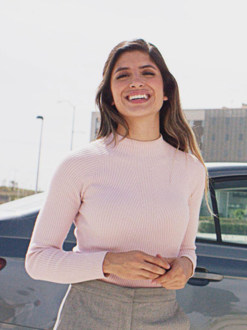 Scar, conductora de nueva sección Volkswagen Series: Mitos y retos de autos VW