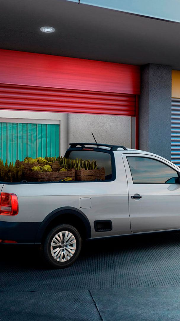 Saveiro 2021 - Camioneta Pick Up de Volkswagen con gran capacidad de carga.