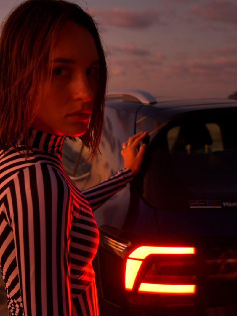 Calaveras traseras LED de T-Cross Volkswagen