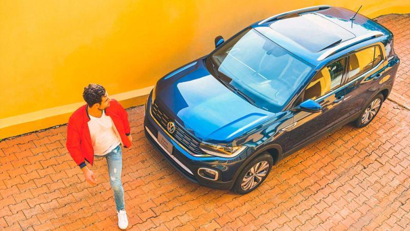 Rieles en toldo cromados en Nuevo T-Cross de Volkswagen