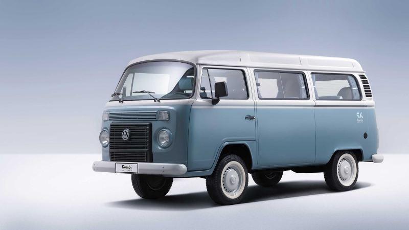 Volkswagen Folkabuss T2 blå