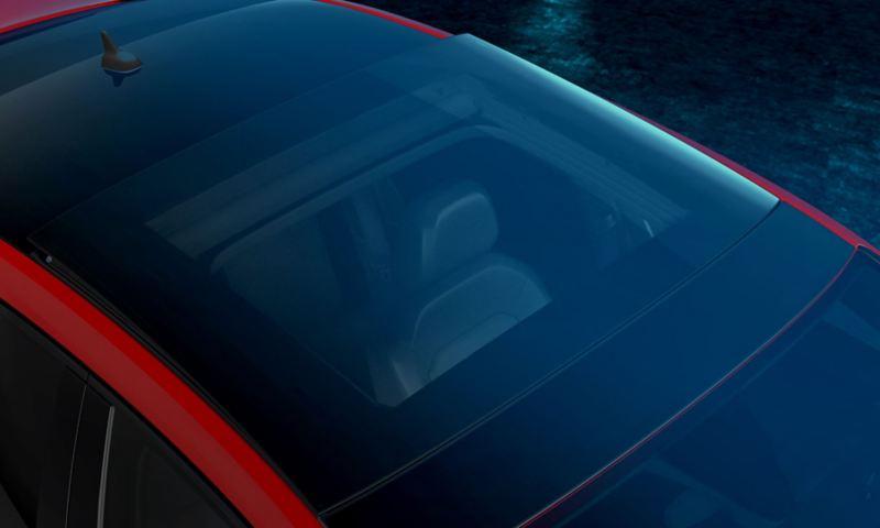 Techo corredizo panorámico del Jetta GLI 2021 de Volkswagen