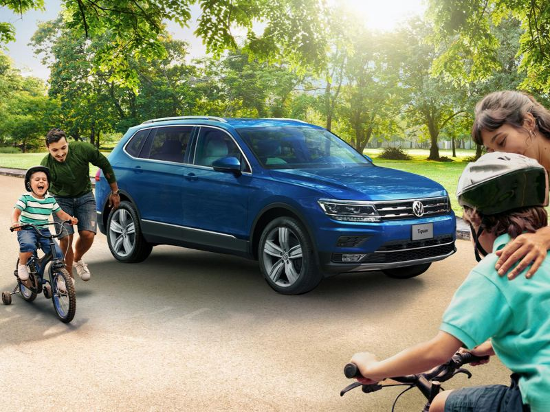 Tiguan 2021, el SUV familiar de Volkswagen con mayor seguridad y espacio.