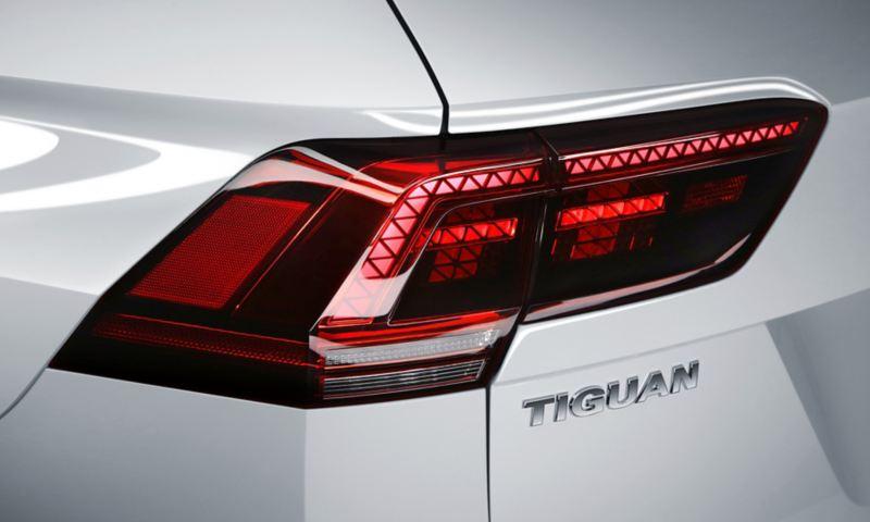 Calaveras oscurecidas de Tiguan, el SUV familiar de Volkswagen