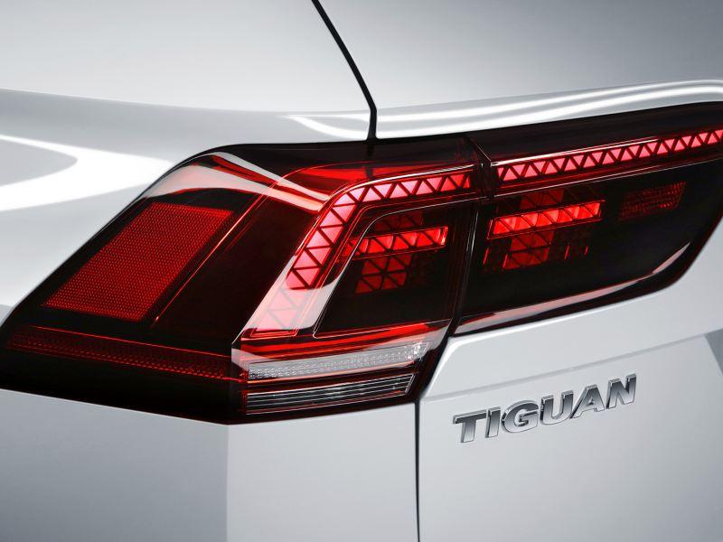 Calaveras traseras del SUV Tiguan 2020 de Volkswagen