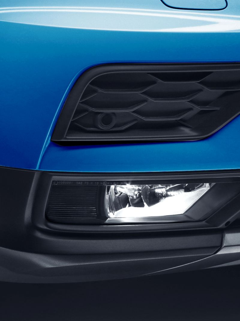 Faros de niebla de la camioneta SUV Tiguan 2021 de Volkswagen