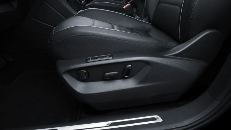 Control de electrónico de posición de los asientos de Tiguan 2020, SUV de Volkswagen