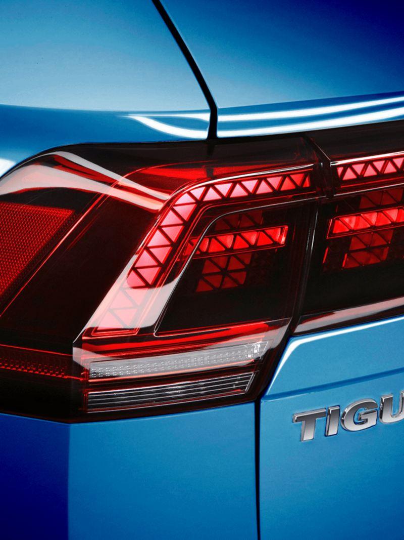 Faros con tecnología FULL LED del SUV Tiguan 2021 de Volkswagen México