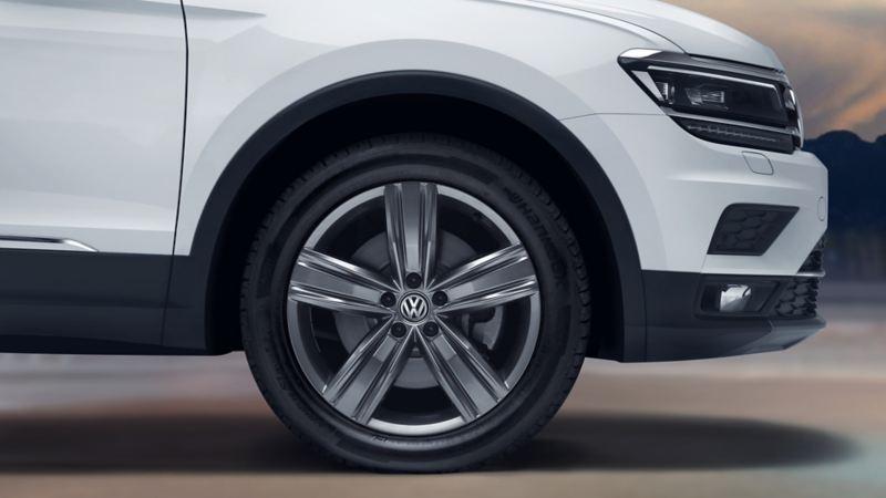 Rines de aluminio de 19´´ del SUV Tiguan 2020 de Volkswagen