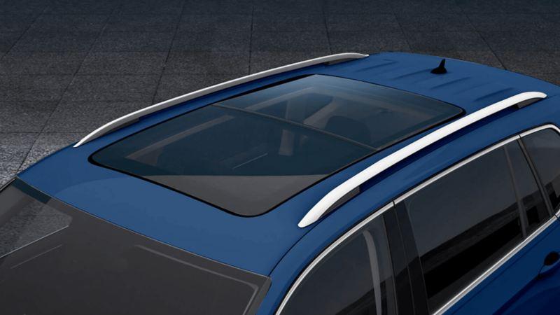 Techo corredizo panorámico del SUV Tiguan 2021 de Volkswagen