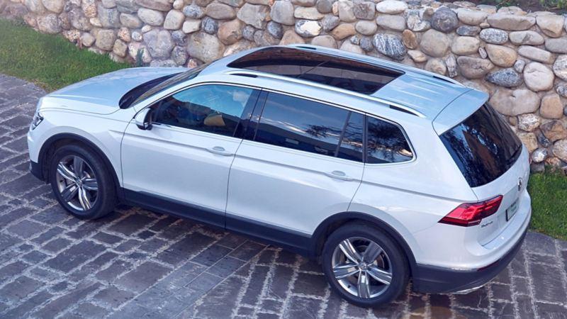Techo corredizo panorámico del SUV Tiguan 2020 de Volkswagen