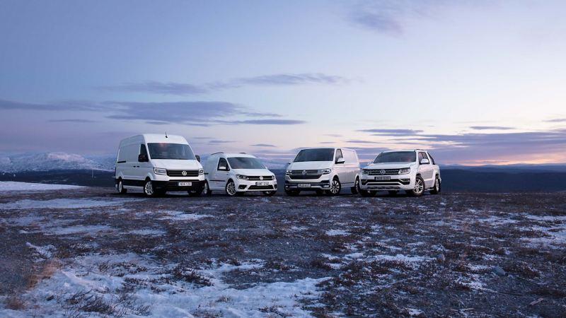VW Transportbilar modeller med 4MOTION