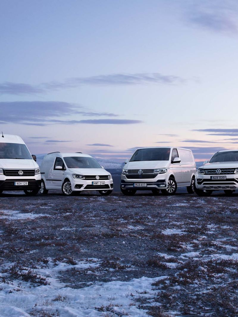 Volkswagen transportbilar modellprogram