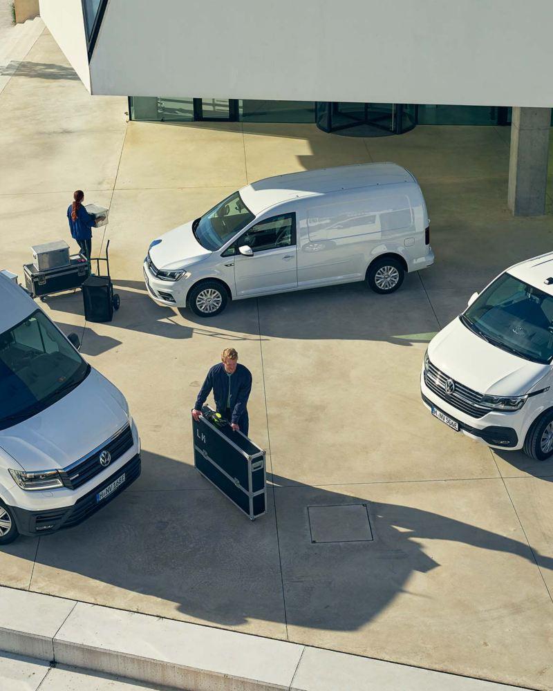 Volkswagen Transportbilars elbilssortiment