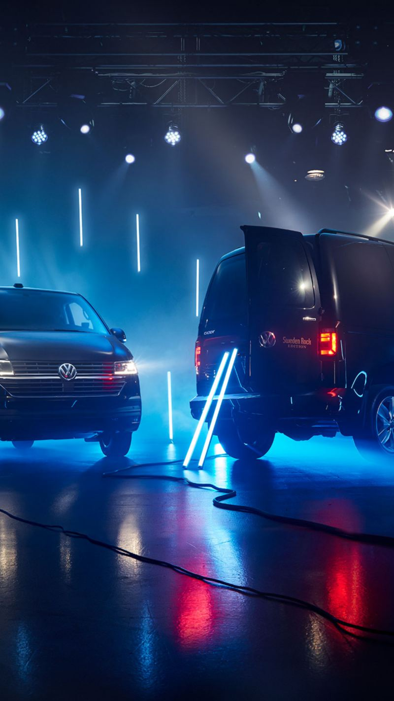 VW Caddy och Transporter 6.1 Sweden Rock Edition