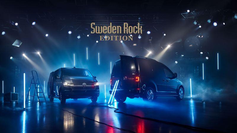 VW Transporter Skåp och Caddy Skåp Sweden Rock Edition
