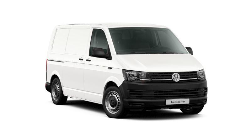 Volkswagen Transporter w wersji Furgon.