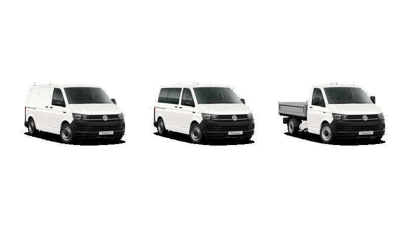 Gama modeli Volkswagen Transporter.