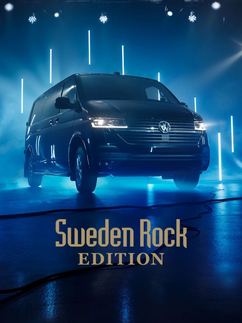 VW Transporter 6.1 Skåp Sweden Rock Edition