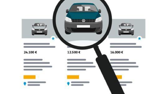 Anschaubild für Gebrauchtwagenkauf.