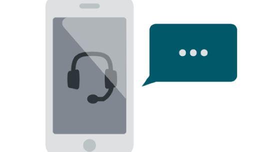 Anschaubild für ein Telefonat per Smartphone.