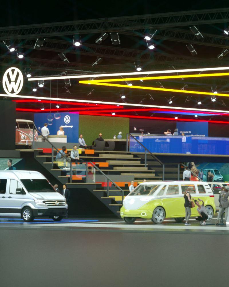 L'esposizione virtuale di Volkswagen Veicoli Commerciali.