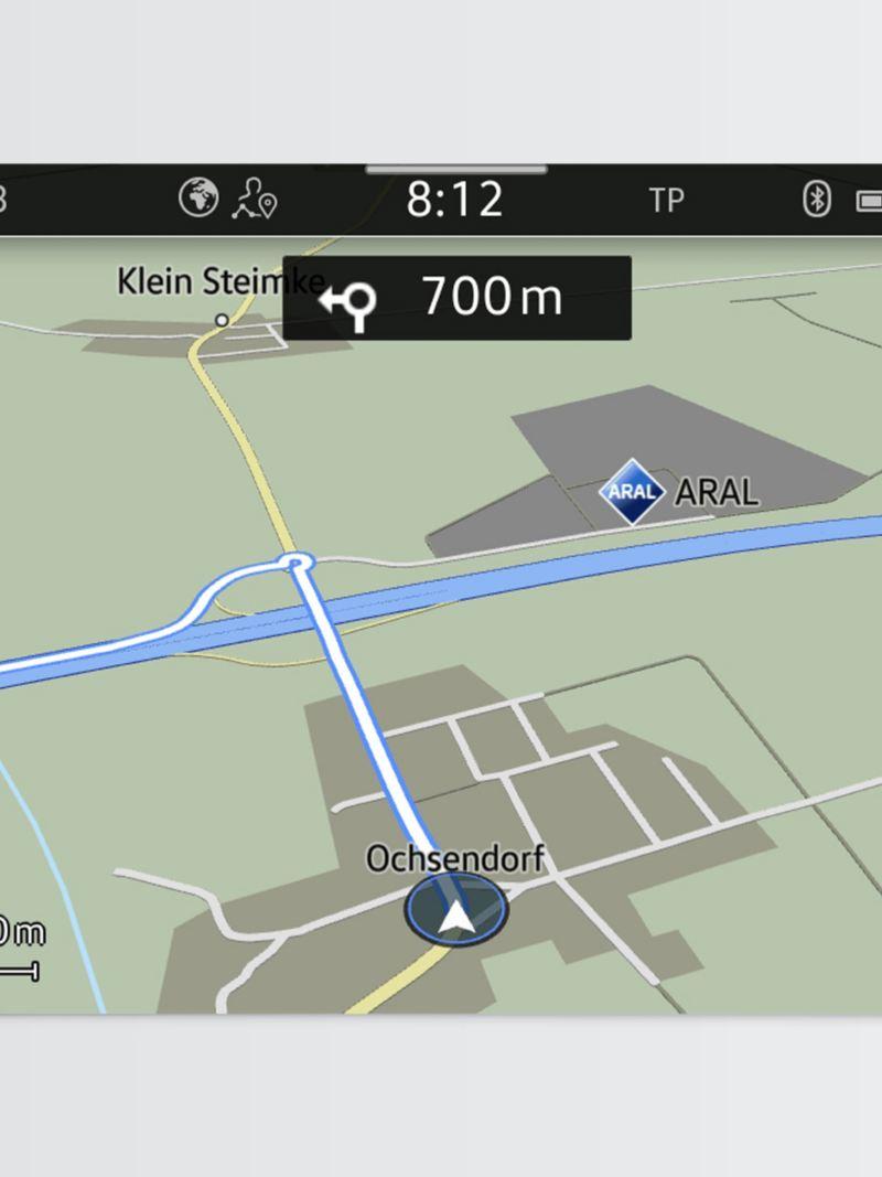 Discover Media navigationssystem i VW transportbil
