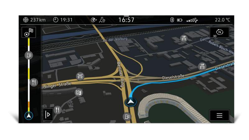 """Multivan 6.1 - Infotainment - Sistema di navigazione """"Discover Pro"""""""