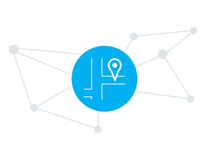 GPS-Ortung und Routenverlauf der We Connect Fleet App.