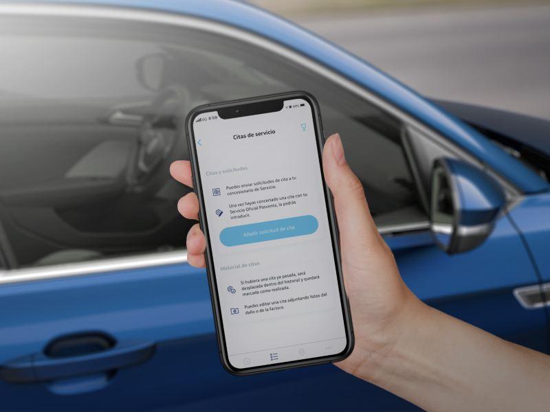Agenda una cita para el mantenimiento de tu VW fácilmente a través de We Connect Go