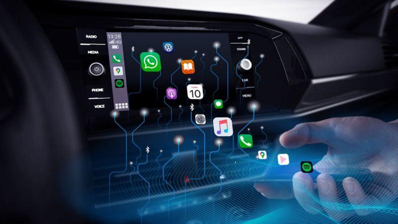 Volkswagen Wireless App-Connect - La mejor conectividad para conectar tu auto y tu smartphone