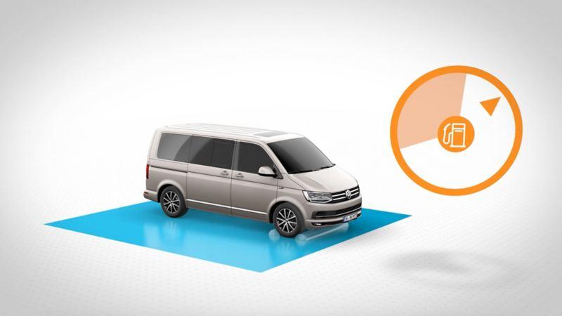wltp vs. NEDC testprosedyre Volkswagen vw Transporter varebil kassebil 3-seter T6
