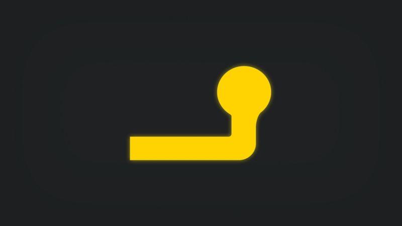 Kontrollleuchte mit Anhängerkupplung leuchtet gelb