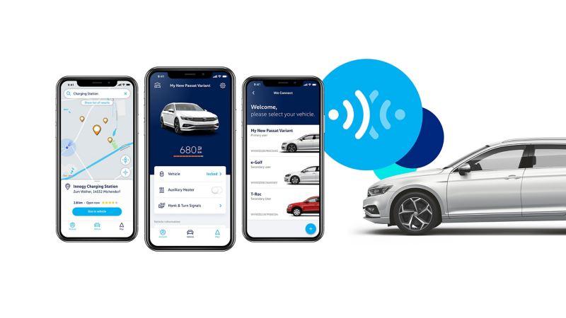 Téléchargement de l'application We Connect