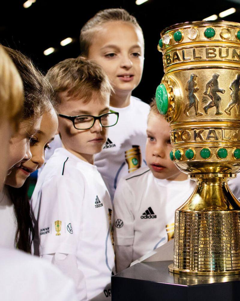 Junior Eskorte DFB-Pokal Viertelfinale