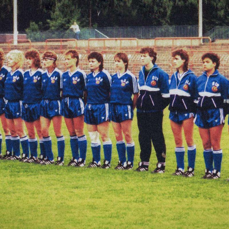DDR-Frauenmannschaft