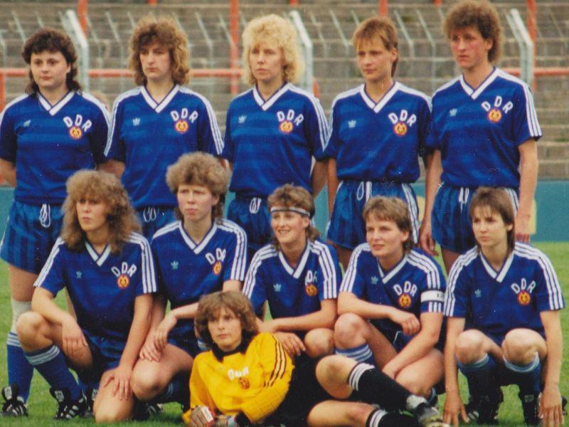 Einziges DDR-Frauen-Länderspiel