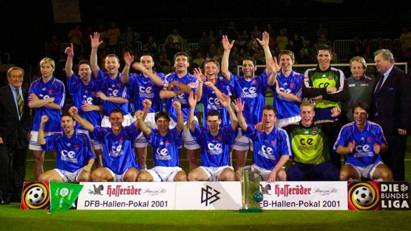 SpVgg. Unerhaching – Hallenpokal-Sieger 2001