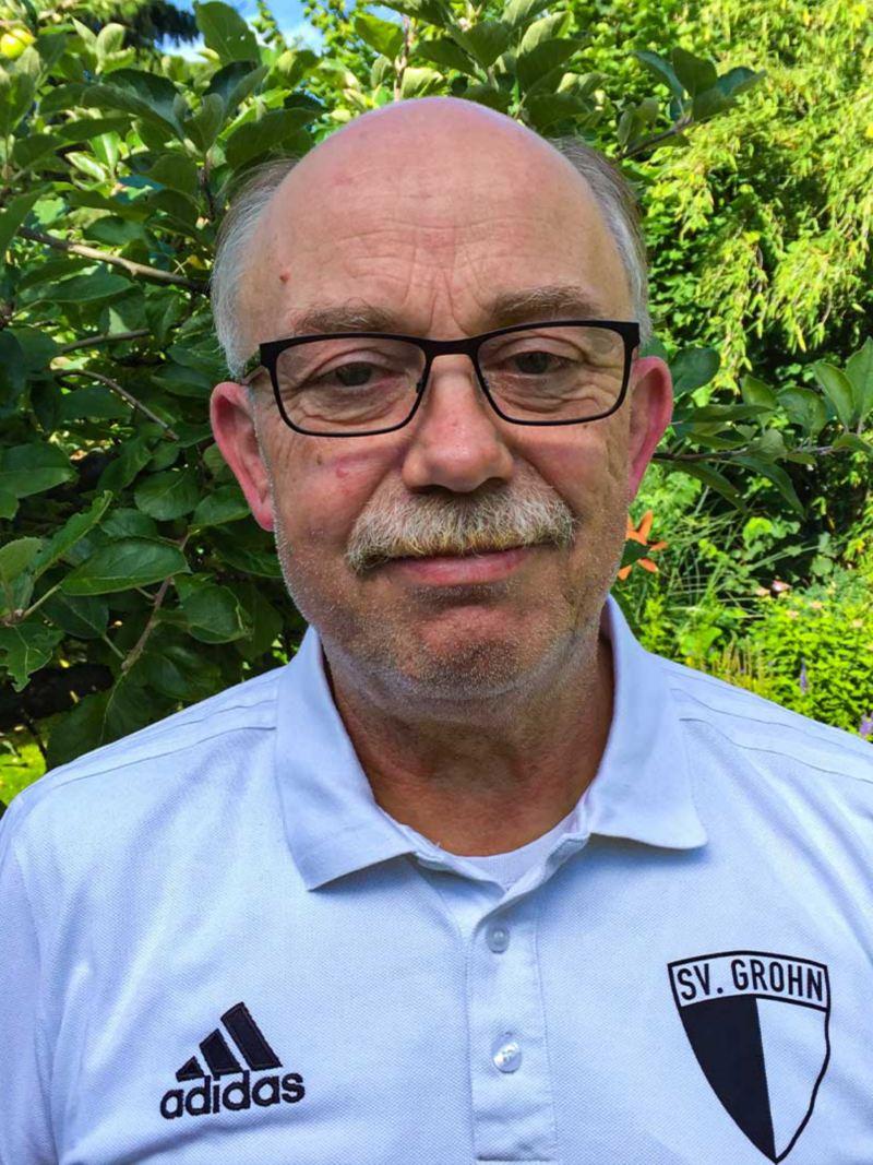 Rolf Kisser im Trikot