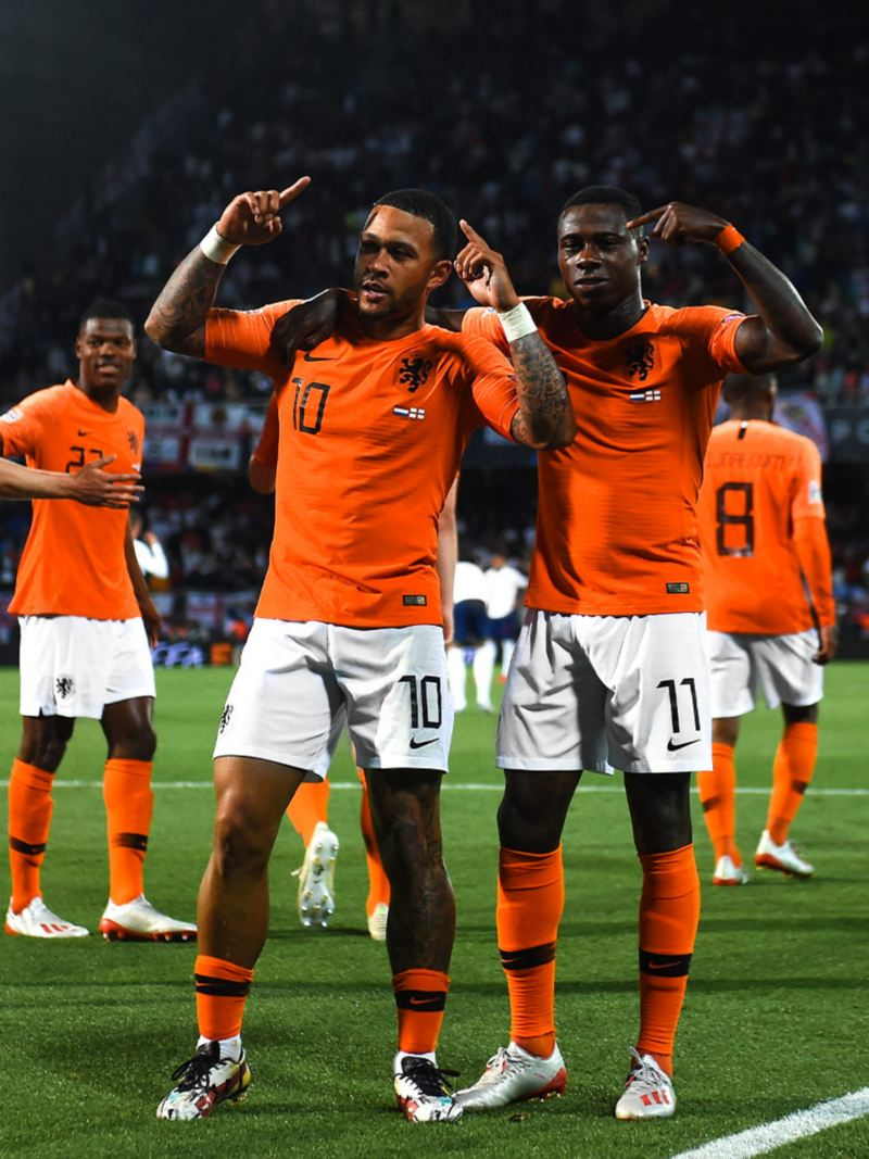 Nations League Semi Finals Niederlande Jubel