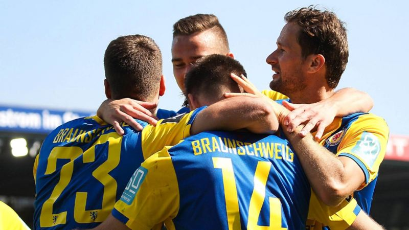 Eintracht Braunschweig Jubel