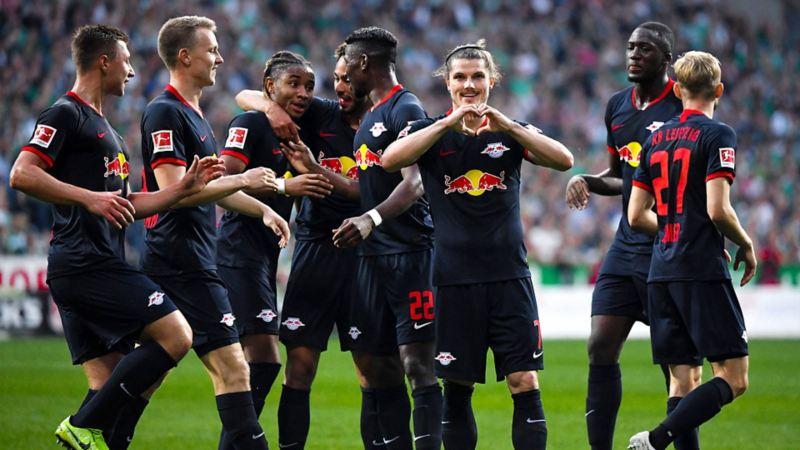 RB Leipzig Jubelfoto
