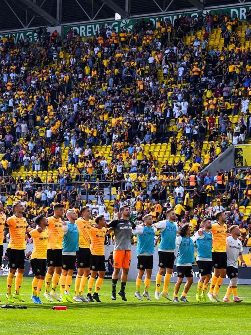 SG Dynamo Dresden Mannschaft