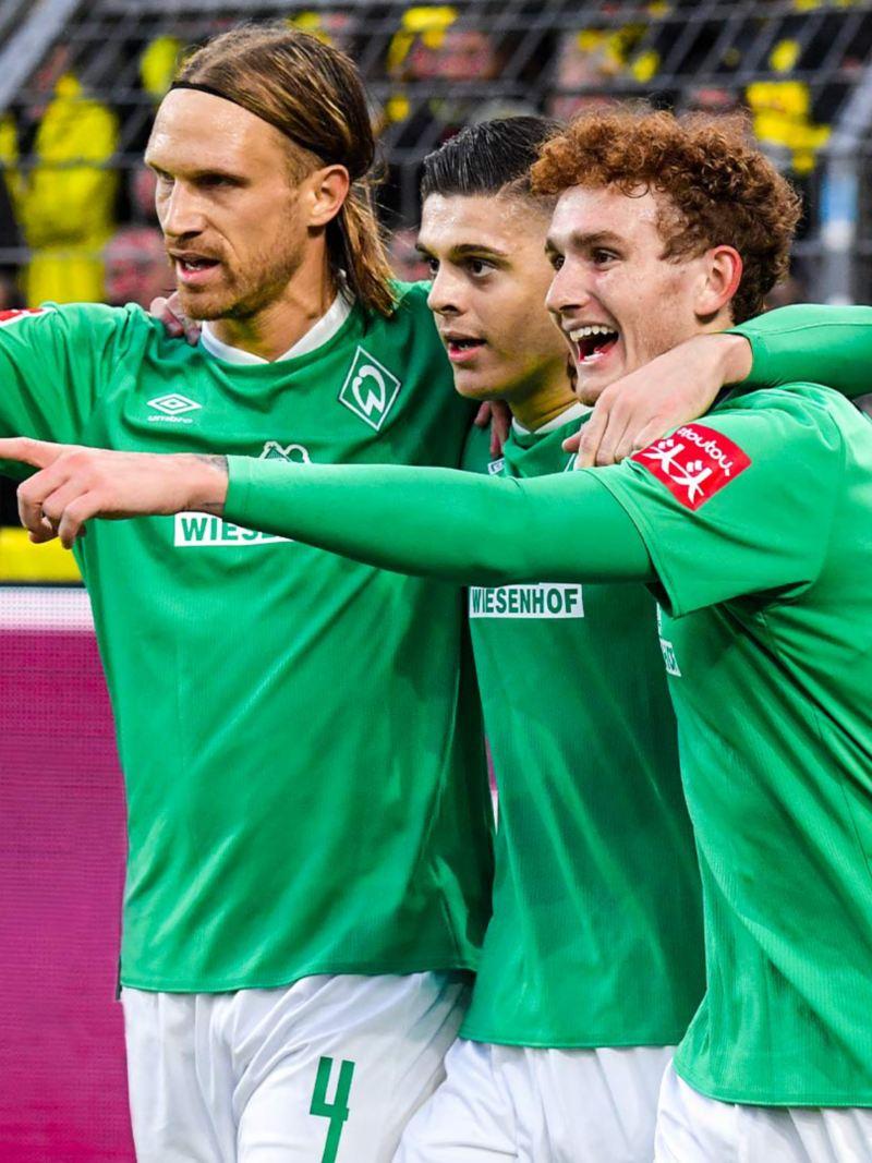 SV Werder Bremen Jubel