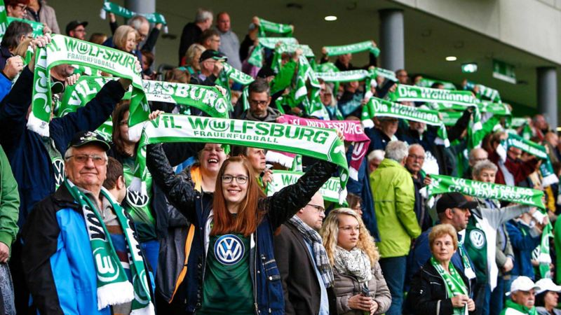 VfL Wolfsburg Frauen Fans