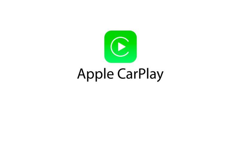 Apple CarPlay™ logo on a white background