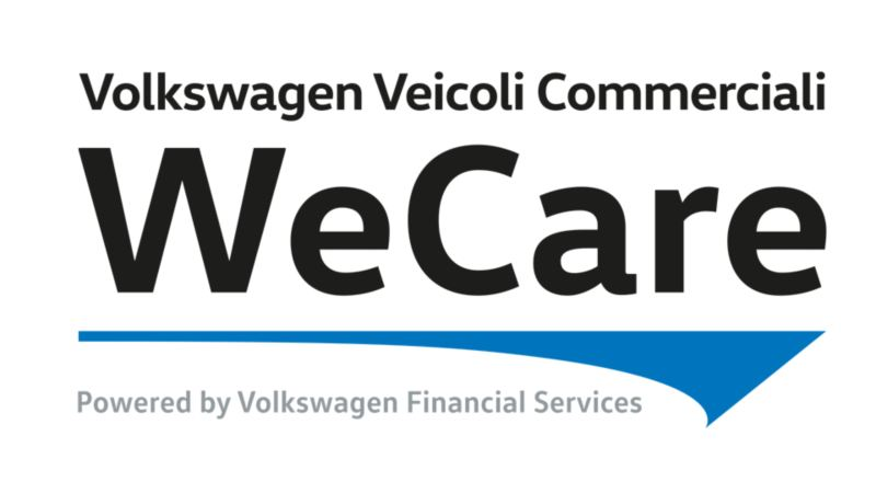 Logo WeCare Volkswagen Veicoli Commerciali