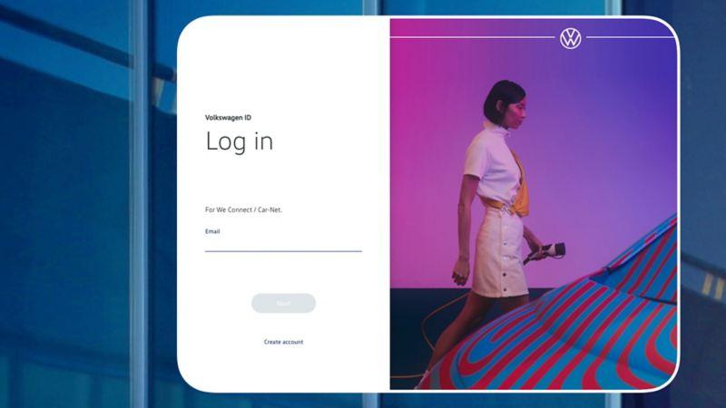 S'inscrire sur le portail We Connect